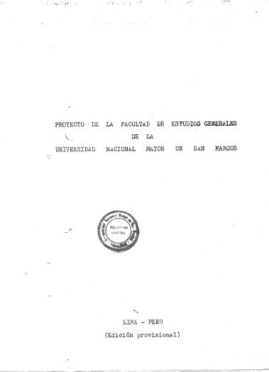 Innovación y prospectiva del Proyecto de la Facultad de Estudios ...